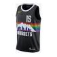 Denver Nuggets Nikola Jokic #15 NBA Jersey Swingman Nike Black - City