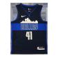 Dallas Mavericks Nowitzki #41 NBA Jersey Nike Blue