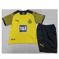 Borussia Dortmund Home Jersey Kit 2021/22 Kids(Jersey+Shorts)