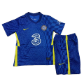Chelsea Home Jersey Kit 2021/22 Kids(Jersey+Shorts)