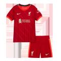 Liverpool Home Jersey Kit 2021/22 Kids(Jersey+Shorts)