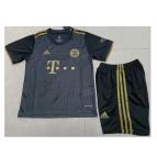 Bayern Munich Away Jersey Kit 2021/22 Kids(Jersey+Shorts)