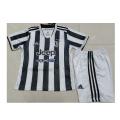 Juventus Home Jersey Kit 2021/22 Kids(Jersey+Shorts)