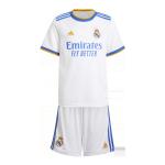 Real Madrid Home Jersey Kit 2021/22 Kids(Jersey+Shorts)