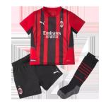 AC Milan Home Jersey Kit 2021/22 Kids(Jersey+Shorts)