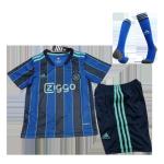 Ajax Away Jersey Kit 2021/22 Kids(Jersey+Shorts+Socks)