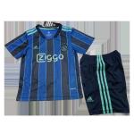 Ajax Away Jersey Kit 2021/22 Kids(Jersey+Shorts)