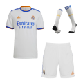 Real Madrid Home Jersey Kit 2021/22 (Jersey+Shorts+Socks)