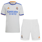 Real Madrid Home Jersey Kit 2021/22 (Jersey+Shorts)