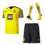 Borussia Dortmund Home Jersey Kit 2021/22 (Jersey+Shorts+Socks)