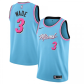 Miami Heat Dwyane Wade #3 NBA Jersey Swingman 2019/20 Nike Blue - City