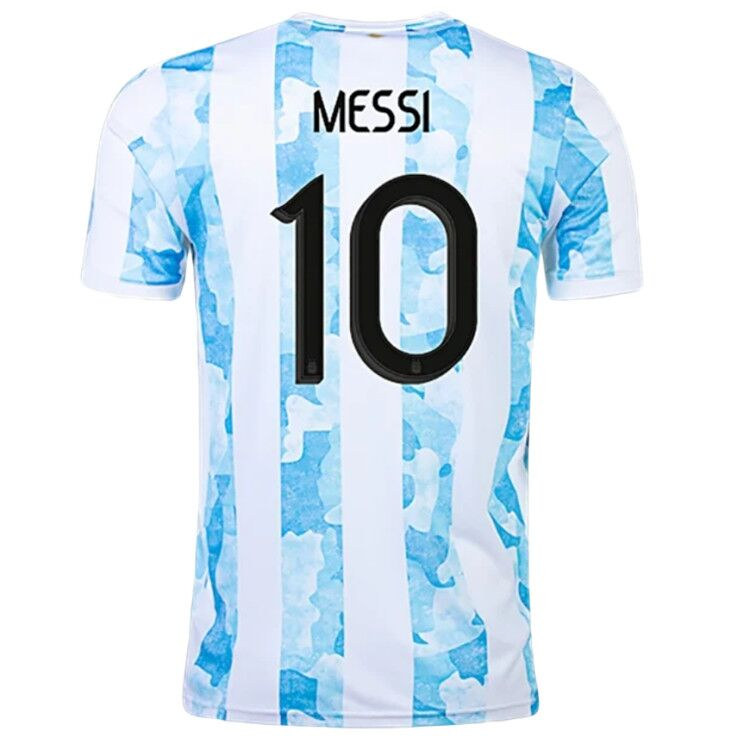 Argentina MESSI #10 Home Jersey 2021