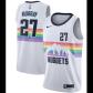 Denver Nuggets Jamal Murray #27 NBA Jersey Swingman Nike White - City