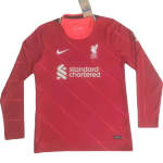 Liverpool Home Jersey 2021/22 - Long Sleeve