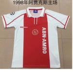 Ajax Home Jersey Retro 1998