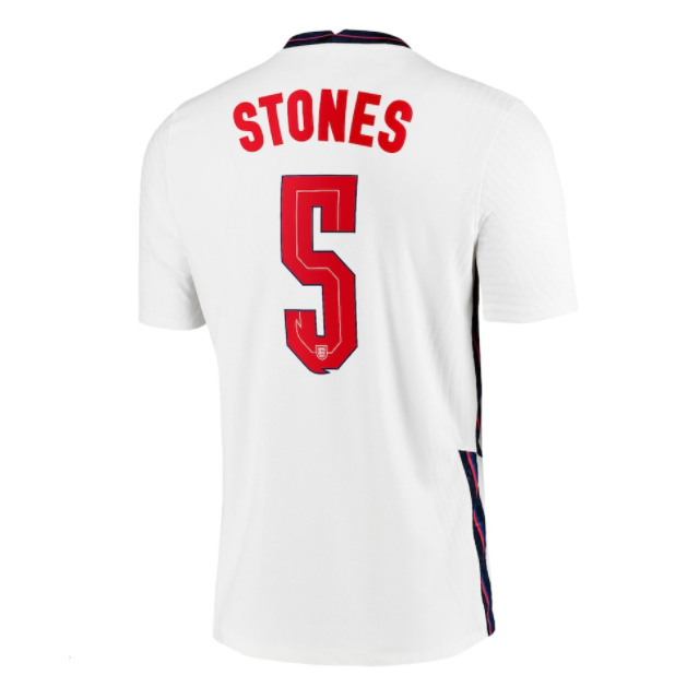 England STONES #5 Home Jersey 2020