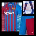 Barcelona Home Jersey Kit 2021/22 (Jersey+Shorts+Socks)