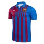 Barcelona Polo Shirt 2021/22 - Blue&Red
