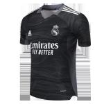 Real Madrid Goalkeeper Jersey 2021/22 - Black