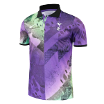 Tottenham Hotspur Polo Shirt 2021/22 - Purple&Green