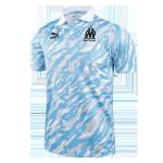 Marseille Polo Shirt 2021/22 - Gray&Blue