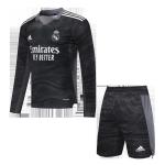 Real Madrid Goalkeeper Jersey Kit 2021/22 (Jersey+Shorts) - Long Sleeve