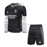 Real Madrid Goalkeeper Jersey Kit 2021/22 (Jersey+Shorts)