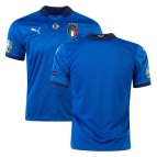 Italy Home Jersey Authentic Euro 2020 Final Version