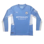 Manchester City Home Jersey 2021/22 - Long Sleeve