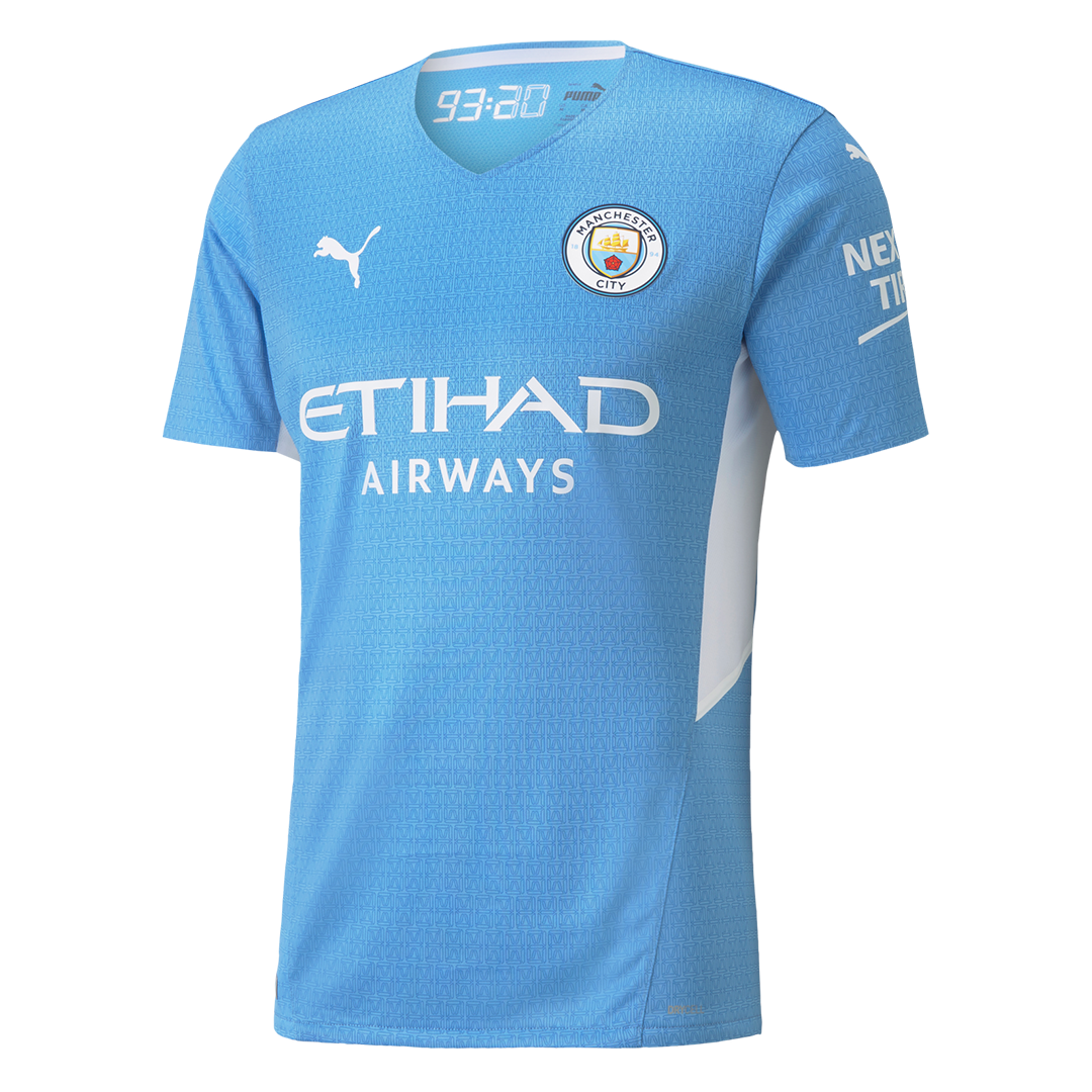 Manchester City Home Jersey Authentic 2021/22