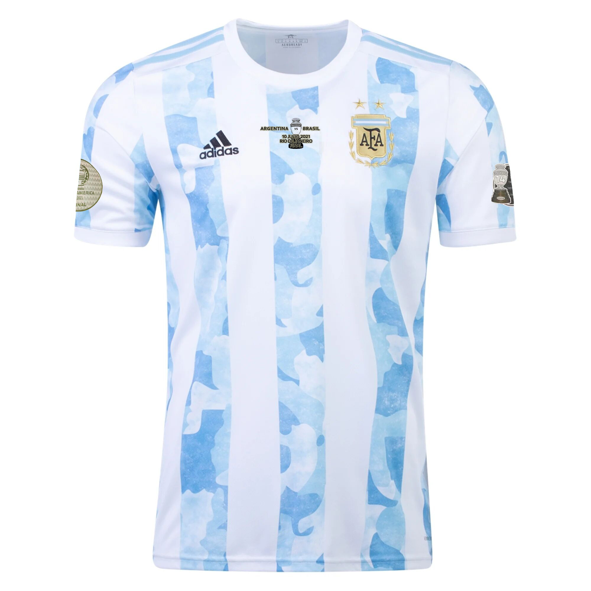 Argentina Home Jersey  Authentic Copa America 2021 Final