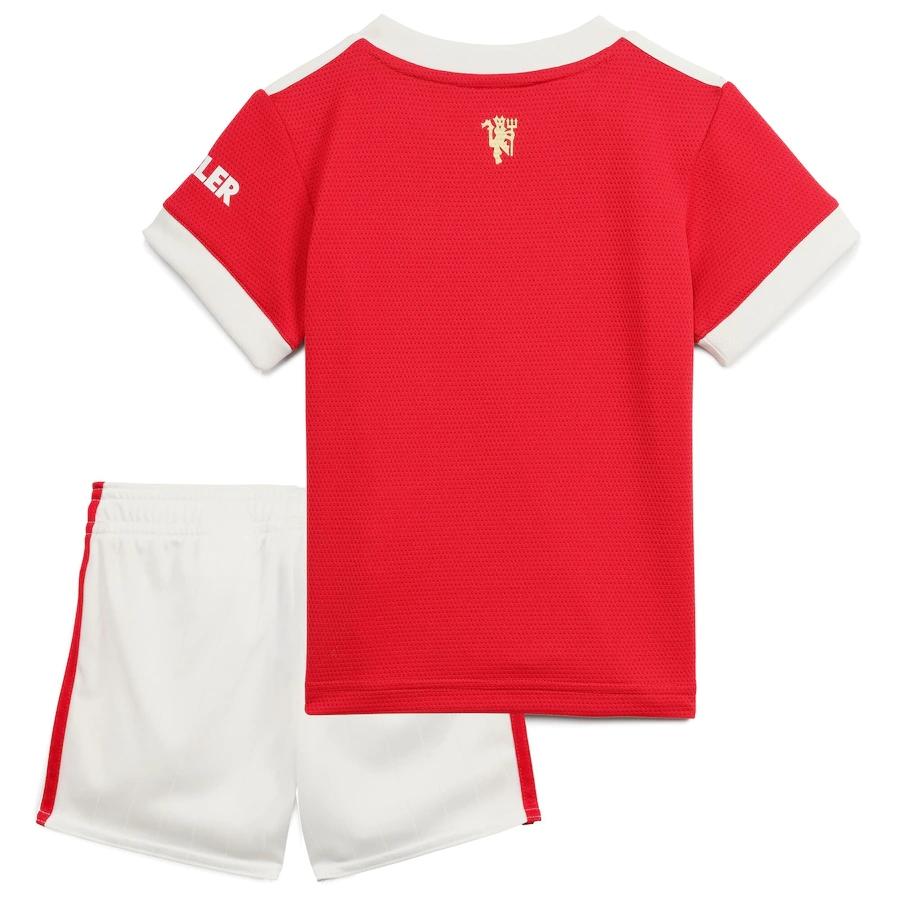 Manchester United Home Jersey Kit 2021/22 Kids(Jersey+Shorts)