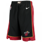 Miami Heat NBA Shorts Swingman 2020/21 Nike Black - Icon