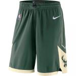 Milwaukee Bucks NBA Shorts Swingman 2019/20 Nike Green - Icon