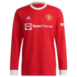Manchester United Home Jersey 2021/22 - Long Sleeve