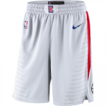 Los Angeles Clippers NBA Shorts Swingman Nike White/Red - Association