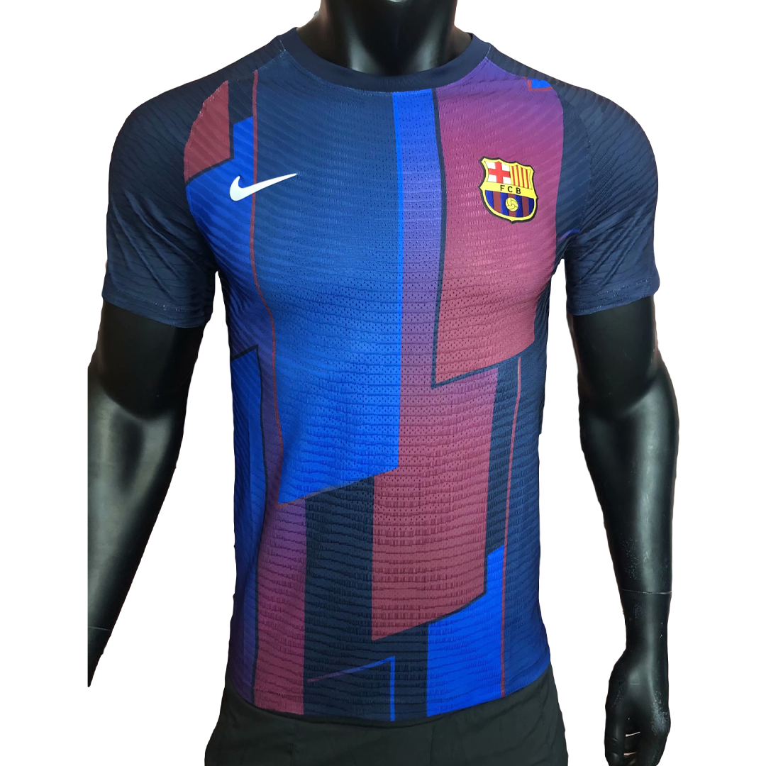 Barcelona Training Jersey Authentic 2021/22 - Blue&Red