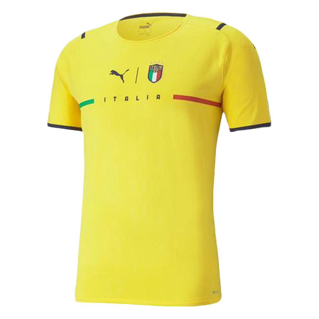 Italy Goalkeeper Jersey Authentic 2021/22 Yellow