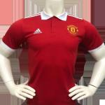 Manchester United Polo Shirt 2021/22 - Black