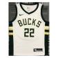 Milwaukee Bucks Khris Middleton #22 NBA Jersey Swingman 2020/21 Nike White - Association
