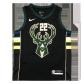 Milwaukee Bucks Khris Middleton #22 NBA Jersey Swingman Nike Black - Statement