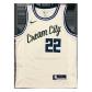 Milwaukee Bucks Khris Middleton #22 NBA Jersey Swingman Nike Cream - City