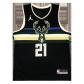 Milwaukee Bucks Jrue Holiday #21 NBA Jersey Swingman 2020/21 Jordan Black - Statement