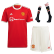 Manchester United Home Jersey Kit 2021/22(Jersey+Shorts+Socks)