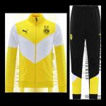 Borussia Dortmund Training Kit 2021/22 - Yellow&White (Jacket+Pants)