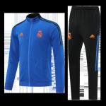 Real Madrid Training Kit 2021/22 - Blue (Jacket+Pants)