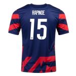 USA RAPINOE #15 Away Jersey 2021/22