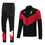 AC Milan Training Kit 2021/22 - Black&Red (Jacket+Pants)