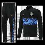 Inter Milan Training Kit 2021/22 - Black&Blue (Jacket+Pants)