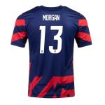 USA MORGAN #13 Away Jersey 2021/22